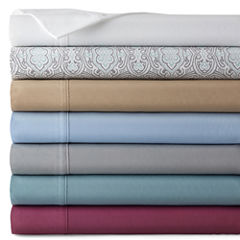 JCPenney Home™ 300tc Easy Care Solid Sheet Set