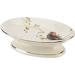 Avanti Gilded Birds Bath Soap Dish