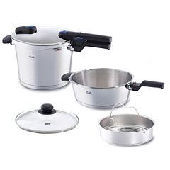 Fissler 8qt Vitaquick Pressure Cooker Set 26cm