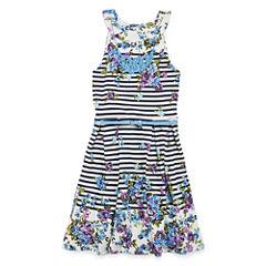 Knit Works Sleeveless Dress Set - Big Kid Girls Plus