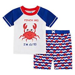 Boys Crab Trunk Set - Toddler