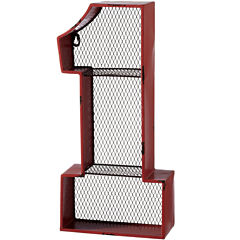 Number 1 Cubby Wall Shelf