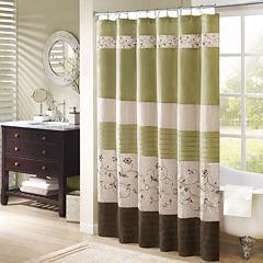 Madison Park Estella Shower Curtain