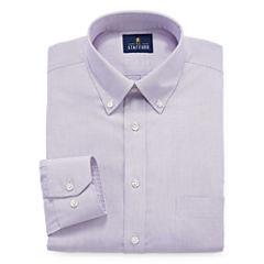 Stafford Executive Non-Iron Cotton Pinpoint Oxford - Big & Tall Long Sleeve Dress Shirt