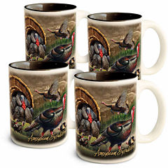 American Expedition American Expedition 4-pc. Coffee Mug