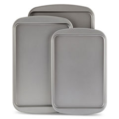 Cooks 3-pc. Nonstick Cookie Sheet Set