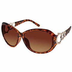 South Pole Full Frame Round UV Protection Sunglasses-Womens