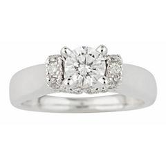 True Love, Celebrate Romance® 1 CT. T.W. Certified Diamond Solitaire Plus Ring