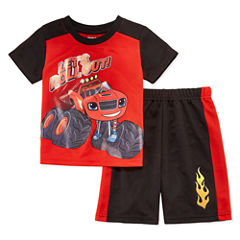 2-pc. Blaze and The Monster Machines Short Set Toddler