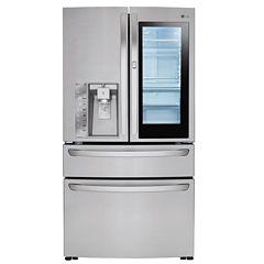 LG ENERGY STAR® 23 cu. ft. InstaView™ Door-in-Door® Counter-Depth Refrigerator
