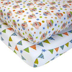 Disney Dumbo 2-pk. Fitted Crib Sheets