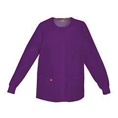 Dickies® Womens Snap-Front Scrub Jacket