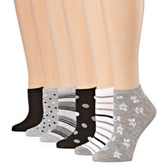 Mixit 6 Pair Low Cut Socks - Womens