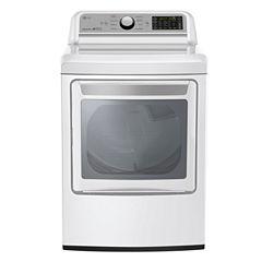 LG ENERGY STAR® 7.3 cu.ft. Super Capacity Electric Dryer