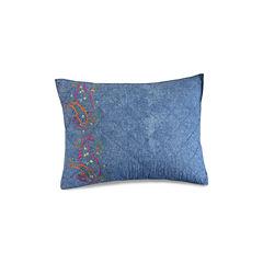 1977 Dry Goods Kelly Denim Standard Pillow Sham