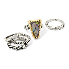 Arizona Silver-Tone 5-pc. Ring Set