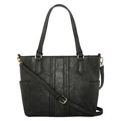 Louis Cardy Double Handle Side Pocket Tote Bag