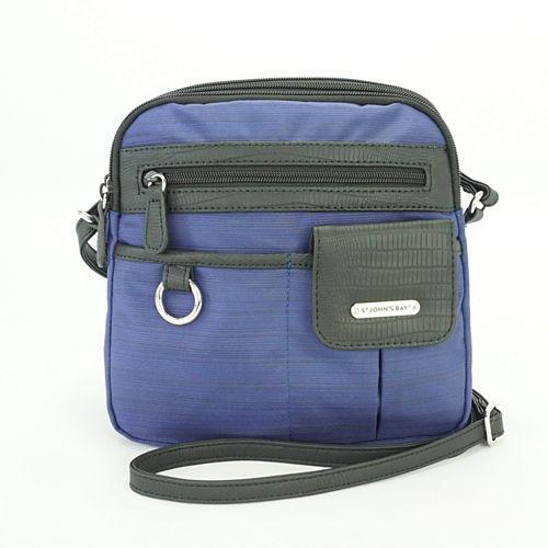 St. John's Bay Mini North South Crossbody Bag