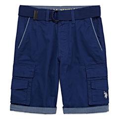 U.S. Polo Assn. Classic Fit Twill Cargo Shorts - Big Kid Boys