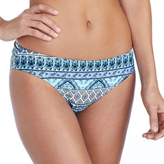 Ambrielle Pattern Hipster Swimsuit Bottom