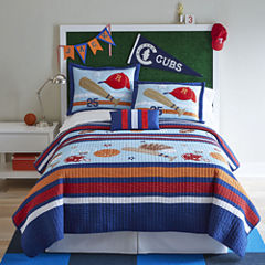 Mi Zone Game Day Quilt Set + BONUS Decorative Pillow