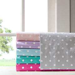 Polka Dot Cotton Sheet Set