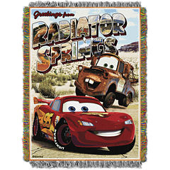 Disney Cars Tapestry Throw