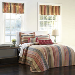 Jewel Retro Chic Striped Bedspread & Accessories