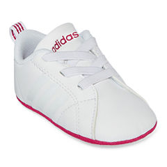 adidas Advantage Clean Girls Running Shoes - Infant