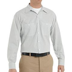 Red Kap® Industrial Stripe Work Shirt