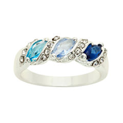 Sparkle Allure Multi Color Solitaire Ring
