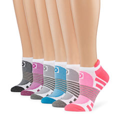Xersion 6pk Tab Low Cut Socks