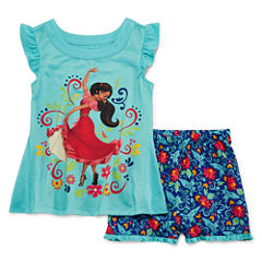Disney Elena Short Sleeve 2pc PJ Set