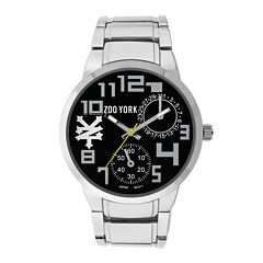 Zoo York® Mens Black Strap Watch
