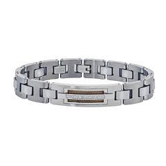 Mens 1/10 CT. T.W. Diamond Chain Bracelet