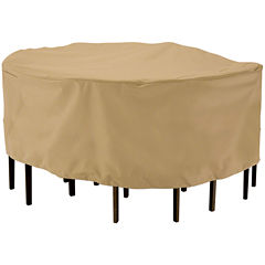 Classic Accessories® Terrazzo Large Round Table & 6 Chairs Cover