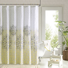90° by Design Lab Jessica Shower Curtain and Hook Set