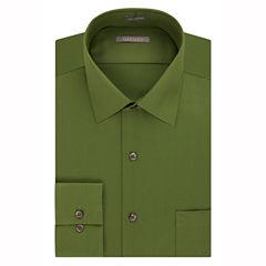 Van Heusen No-Iron Lux Sateen Long Sleeve Sateen Dress Shirt - Fitted