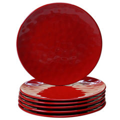 Certified International Red 6-pc. Salad Plate