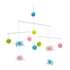 NoJo® Zutano Elephant Asia Ceiling Mobile