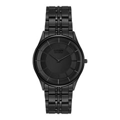 Citizen® Eco-Drive® Mens Black Ion Plating Watch AR3015-53E