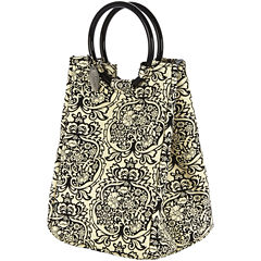Fit & Fresh® Damask Retro Lunch Bag with Ice Pack