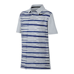 Nike Short Sleeve Pique Polo Shirt - Big Kid Boys