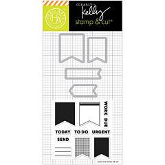 Planner Banners Stamp & Die Set