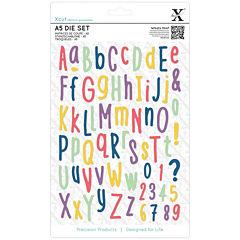 docrafts Folk Alphabet 67-pc. Dies