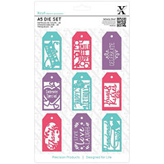 docrafts 11-pc. Everyday Gift Tag Dies