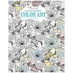 Leisure Arts Living Wonders Coloring Book