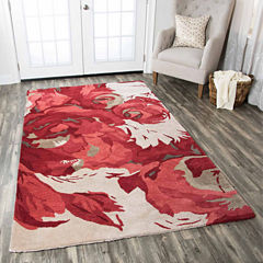 Rizzy Home Highland Floral Rectangular Rugs