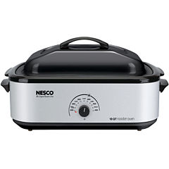 Nesco 4818-47 18 Quart Porcelain Cookwell Roaster