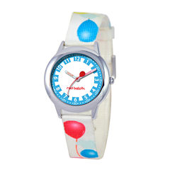 Red Balloon™ Boys' White Balloon Strap Watch